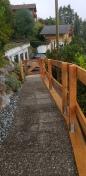Dallage + barrière et portail